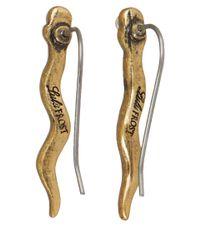 Lulu Frost - Metallic Gold-Tone Serpentine Ear Crawler Earrings - Lyst