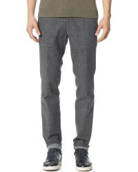 Vince | Gray Fleck Mercer Utility Pants for Men | Lyst