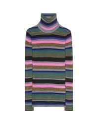 Emilio Pucci   Multicolor Striped Turtleneck Sweater   Lyst