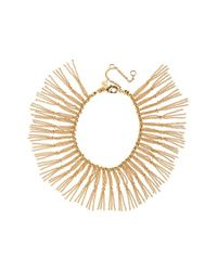 Rebecca Minkoff | Metallic Beaded Fringe Bracelet | Lyst