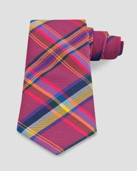 Thomas Pink - Pink Grinstead Check Classic Tie for Men - Lyst