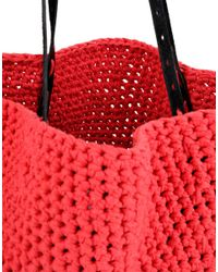 Wool And The Gang | Red Carrie On Tote | Lyst