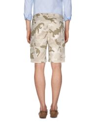 Valentino - Natural Bermuda Shorts for Men - Lyst