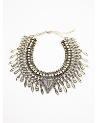 Free People | Metallic Womens Eve Metal Choker | Lyst