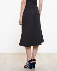 Awake - Black Midi Skirt With Gems - Lyst
