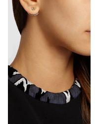 Jemma Wynne | Metallic 18-Karat Gold Diamond Earrings | Lyst