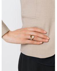 Rosa Maria - Metallic 'Mina' Ring - Lyst