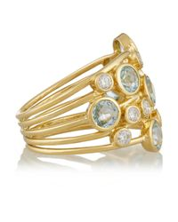 Ippolita | Metallic Rock Candy Lollipop Constellation 18-Karat Gold, Topaz And Diamond Ring | Lyst