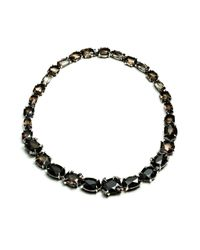 Alexis Bittar - Black Smoky Gold Marquis Strand Necklace You Might Also Like - Lyst