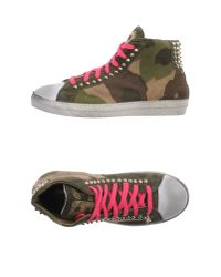 Patrizia Pepe - Green High-Tops & Trainers - Lyst