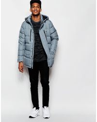 Nike | Blue Alliance Hooded Parka 687878-065 for Men | Lyst