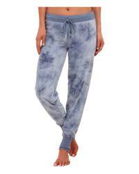 Pj Salvage - Blue Tie-dye Jammies Lounge Pants - Lyst
