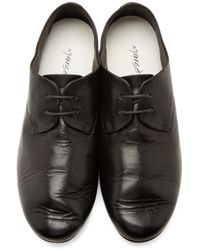 Marsèll | Black Leather Oxford Shoes for Men | Lyst