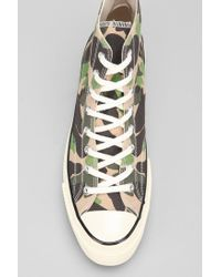 Converse | Green Chuck Taylor All Star 70s Camo High Top  Sneaker for Men | Lyst