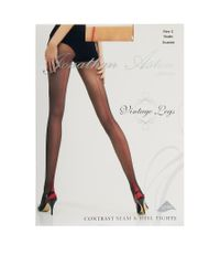 Jonathan Aston - Red Contrast Seam Heel Tights - Lyst