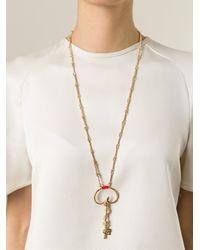 Aurelie Bidermann   Metallic 'soho' Snake Necklace   Lyst