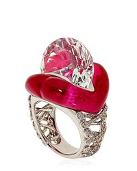 Lydia Courteille - Red Erotic Ring - Lyst