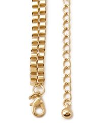 Forever 21 - Metallic Faux Pearl Choker Necklace - Lyst