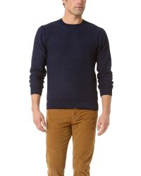 Paul Smith | Blue Colour Block Jumper for Men | Lyst