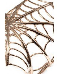 Bernard Delettrez | Metallic Giant Web Bracelet | Lyst