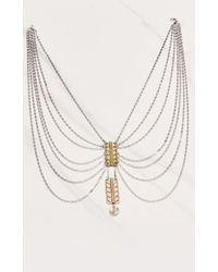 Vanessa Mooney | Metallic Blaze Necklace | Lyst