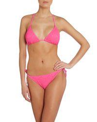 Marie Meili - Pink Bikini Brief - Lyst