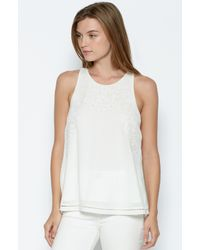 Joie | White Perdue Silk Top | Lyst