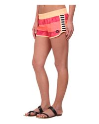 Hurley   Pink Supersuede Printed Beachrider Boardshort   Lyst