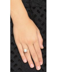 Chan Luu - Freshwater Cultured Pearl Ring - White Pearl - Lyst