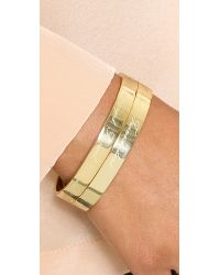 Samantha Wills | Metallic Astrology Bangle Bracelet - Virgo | Lyst