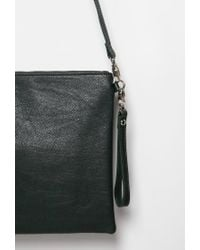 Forever 21 - Green Oversized Crossbody Pouch - Lyst