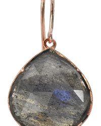 Irene Neuwirth - Gray Rose Cut Labradorite Drop Earrings - Lyst
