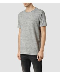 AllSaints | Gray Forgone Crew T-shirt for Men | Lyst