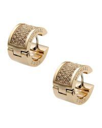 Michael Kors - Metallic Earrings - Lyst