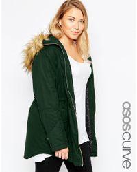 ASOS - Green Ultimate Parka - Lyst