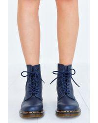 Dr. Martens - Blue Pascal 8-eye Boot - Lyst