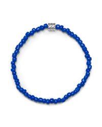 Club Monaco - Blue Luis Morais Barrel Bracelet for Men - Lyst