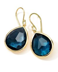 Ippolita | Blue Medium Teardrop Earrings | Lyst