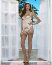 Agent Provocateur - White Abbey Basque - Lyst