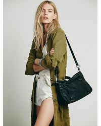 Free People | Black Simply Vegan Fp Womens Leni Vegan Crossbody | Lyst