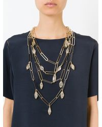 Rosantica | Metallic 'tiana' Necklace | Lyst
