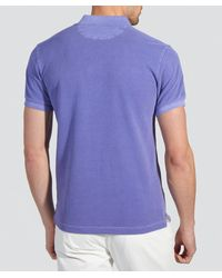 Gant | Purple Sunbleached Polo Shirt for Men | Lyst