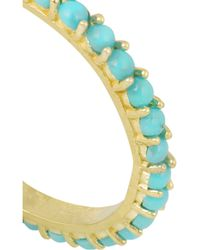 Jennifer Meyer - Blue 18-Karat Gold Turquoise Earrings - Lyst
