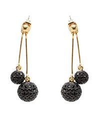 Noir Jewelry | Metallic Martina Dangle Earrings | Lyst