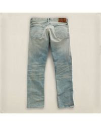 RRL | Gray Slimfit Flagstaff Jean for Men | Lyst