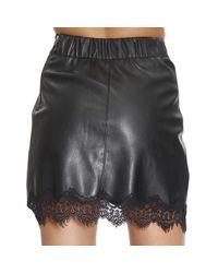 Patrizia Pepe | Black Skirt | Lyst