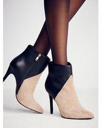 Free People - Natural Charles David Womens East Side Heel Boot - Lyst