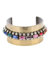 Iosselliani - Metallic Embellished Cuff - Lyst