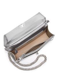 Akris - Metallic Anouk City Flap Bag - Lyst