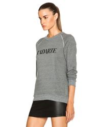 Rodarte - Gray Radarte Poly-blend Sweatshirt - Lyst